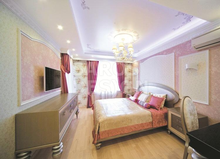 натяжных в фото новосибирск потолков спальне
